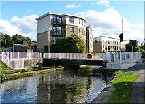 SE1537 : Dock Swing Bridge No 209 at Shipley by Mat Fascione