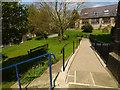 SE1565 : St Cuthbert's, Pateley Bridge - access ramp by Stephen Craven