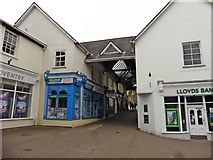 ST5393 : Shopping centre, Chepstow by Roger Cornfoot
