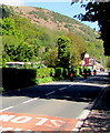 SO1723 : Bikers on the A479 in Cwmdu, Powys by Jaggery