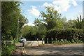 TQ0577 : Blocked road, Harmondsworth by Derek Harper
