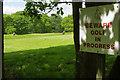 TQ2270 : Royal Wimbledon Golf Club by Stephen McKay
