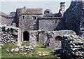 SS4792 : Weobley Castle interior by Robin Drayton