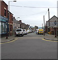 ST1586 : One-way Broomfield Street, Caerphilly by Jaggery
