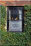 TR0245 : The Old Mill (3) - smoking room window, Canterbury Road, Kennington, Ashford, Kent by P L Chadwick