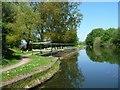 SK0401 : Overflow weir, Daw End Branch, Wyrley & Essington canal by Christine Johnstone