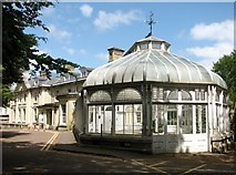 TG2407 : Late 19th century conservatory by Evelyn Simak