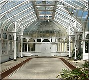 TG2407 : Grade 2 listed Boulton and Paul conservatory by Evelyn Simak