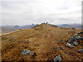NM8296 : Beinn Bhuidhe summit from the west by Andy Waddington