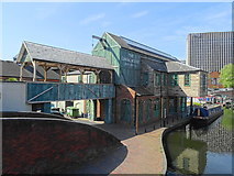 SP0686 : The Canal House (former James Brindley) by John M