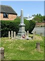 SK6415 : Thrussington War Memorial by Alan Murray-Rust