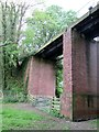 SE8467 : Viaduct  at  North  Grimston  on  dismantled  line by Martin Dawes