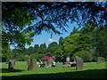 ST2885 : Gorsedd stone circle, Tredegar House Country Park, Newport by Robin Drayton