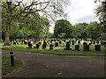 SJ8645 : Stoke (Hartshill) Cemetery (9) by Jonathan Hutchins