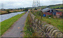 SD7130 : Towpath along the Leeds and Liverpool Canal by Mat Fascione