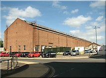 TG2407 : Works shed in Hardy Road by Evelyn Simak
