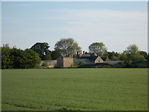TF1505 : View across the fields to Manor Farm, Glinton by Paul Bryan
