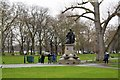 TQ2975 : Drinking Fountain, Clapham Common by N Chadwick