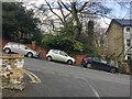 TQ3370 : Good handbrakes on Fox Hill, Upper Norwood, south London by Robin Stott