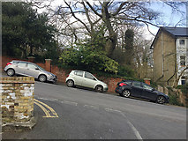TQ3370 : Good handbrakes on Fox Hill, Upper Norwood, south London by Robin Stott