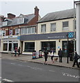 SY1287 : Welcome to Sidmouth's Co-op by Jaggery
