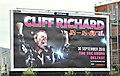 J3373 : Cliff Richard poster, Belfast (May 2018) by Albert Bridge
