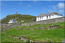 SW3531 : Cape Cornwall by Anne Burgess
