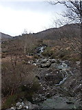 NG8806 : Upstream view of the Allt a' Chaolas Bhig by Richard Law
