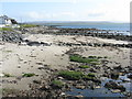 NR2661 : Foreshore at Bruichladdich by M J Richardson