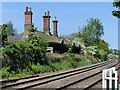 SK6716 : Remains of Brooksby Station by Alan Murray-Rust