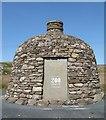 NR3845 : Laphroaig's Bicentenary Cairn by M J Richardson