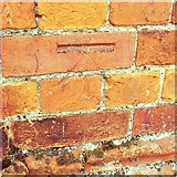 TM1645 : Cut Mark Ipswich School Chapel Henley Road by Cud05