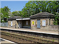 TM4069 : Darsham Station: waiting shelter by John Sutton