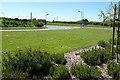 SW9962 : Manicured Lawn by Anne Burgess