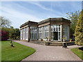 SJ7481 : Tatton Park gardens - orangery (exterior) by Stephen Craven
