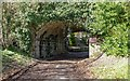 NH7256 : Former Black Isle Railway Underbridge by valenta