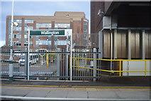 TQ2863 : Wallington Station by N Chadwick