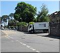 ST3090 : Smiths Waste Management lorry, Pillmawr Road, Malpas, Newport by Jaggery