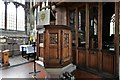 SJ5658 : Bunbury, St. Boniface's Church: The pulpit by Michael Garlick