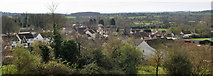 ST7581 : Old Sodbury Village from St John the Baptist Church, Gloucestershire 2017 by Ray Bird
