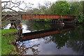NN5733 : Old railway bridge, Killin by Ian Taylor