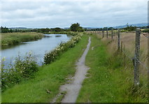 SD7328 : Towpath along the Leeds and Liverpool Canal by Mat Fascione