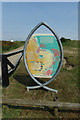 TM4762 : Sizewell Information sign by Adrian Cable