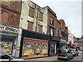 TF4609 : Shops on Wisbech High Street opposite The Gap by Richard Humphrey