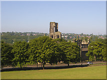 SE2636 : Kirkstall Abbey viewed from Morris Lane by Stephen Craven