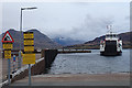 NG5436 : Ferry Approaching Raasay by Anne Burgess