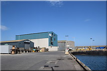 NJ9967 : Quayside buildings, Fraserburgh by Bill Harrison