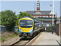 TA2710 : Trans Pennine Express passing through Grimsby Docks station by Graham Hogg