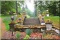 NT1735 : Stone steps, Dawyck Botanic Garden by Jim Barton