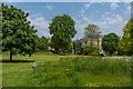 SU8612 : West Lawn, West Dean Gardens by Ian Capper